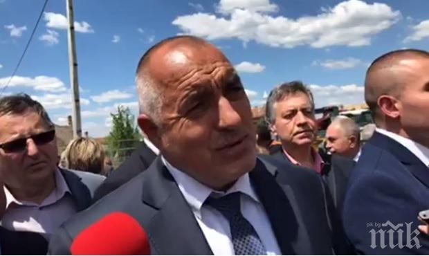 ЕКСКЛУЗИВНО В ПИК TV! Борисов на първа копка в Хитрино: Благодаря на свещеника и мюфтията, трябва да живеем и строим заедно (ОБНОВЕНА)