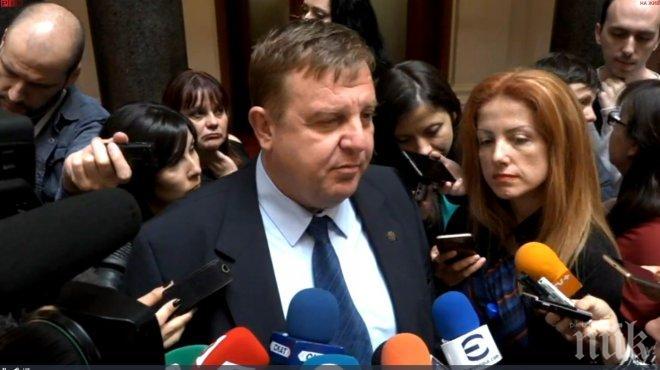 ПЪРВО В ПИК TV! Каракачанов с горещ коментар за скандалите с фашизма: Има сценарий за предизвикване на разкол в коалицията! Няма да уволня Антонов заради това (ОБНОВЕНА)