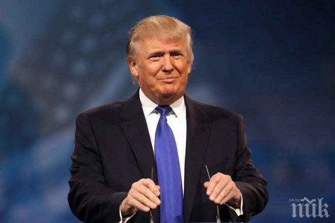 Тръмп излетя на първото си посещение в чужбина като президент