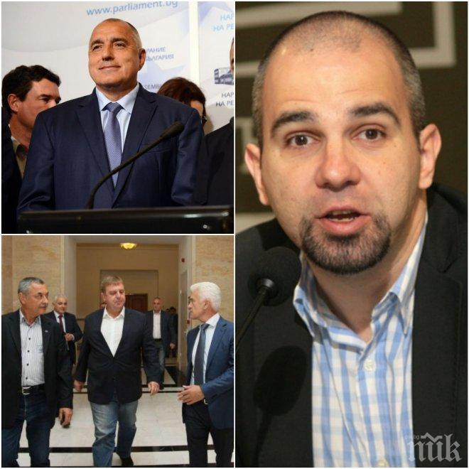 ИЗВЪНРЕДНО: Политологът Първан Симеонов разкри какво може да бутне кабинета и дали Борисов гледа към президентските избори!