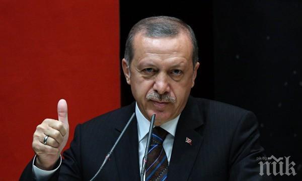 Ердоган: ЕС подкрепя Гърция, но не и Турция