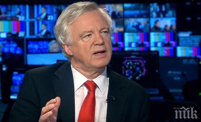 Министърът за Брекзит: Великобритания ще напусне преговорите, ако ЕС поиска 100 млрд. евро