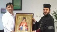 Икона на светец хирург ще пази медици и пациенти в болницата в Бургас