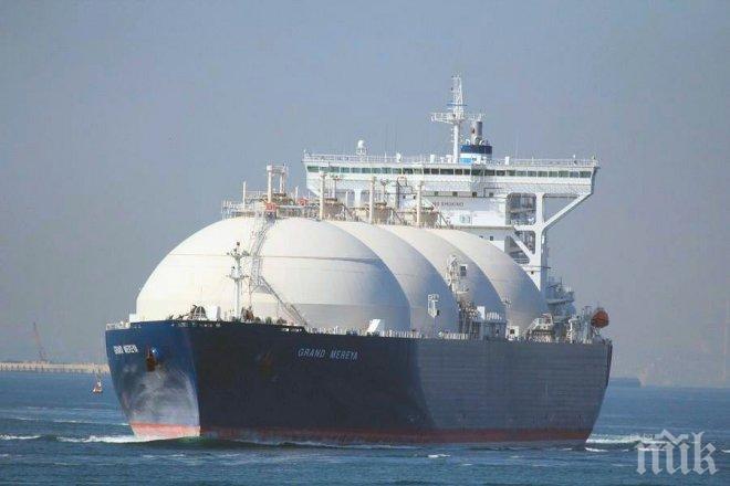 Полша започна да купува втечнен газ от САЩ