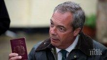 Найджъл Фараж обмисля завръщане на лидерския пост на Партия за независимостта на Обединените кралство