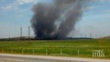 БЕДСТВИЕ! Трети ден пожарникари се борят с огъня край Шишманци