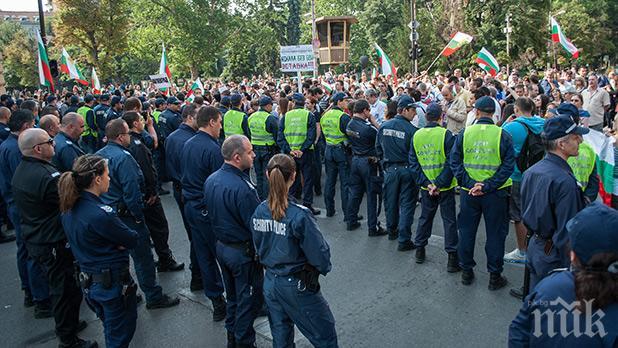 Стачна готовност! Полицаи поискаха по-високи заплати от юли, ако не получат - излизат на протест
