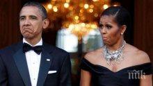 Мишел Обама: Барак изкара два мандата с един и същи смокинг