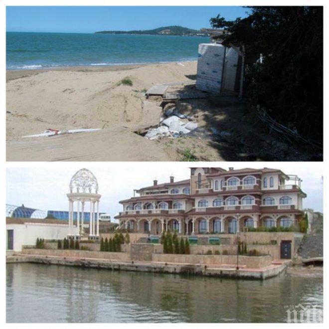 ИЗНЕНАДВАЩ ХОД! Плажът с палата на Доган в подмолна схема! Ивицата Отманли остана без концесионер, след като близка до ДПС фирма не плати наема