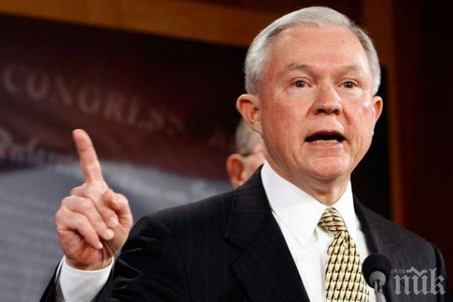 Правосъдният министър на Съединените щати Джеф Сешънс ще се яви пред Сената на 13 юни