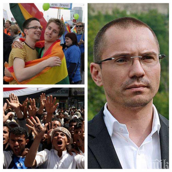 """ЕКСКЛУЗИВНО И САМО В ПИК! Ангел Джамбазки проговори за исканата оставка на Валери Симеонов! Разкри защо """"розовите"""" болшевики и ДПС си приличат"""