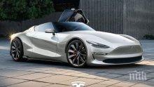 """БЪДЕЩЕТО Е ТУК: Второто поколение на """"Тесла Roadster"""" вдига 100 км./час под 2 секунди?"""