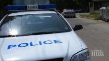 Дрогиран шофьор се пробва да бяга на полицията
