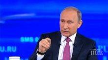 Путин предложи убежище на бившия шеф на ФБР Джеймс Коми