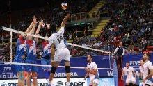 Сърбия с драматична победа над Аржентина в Световната лига по волейбол