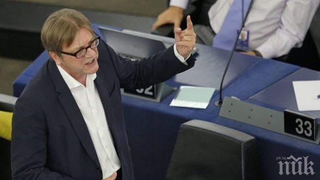 Ги Верхофстад: Британците могат да останат в ЕС, ако поискат това