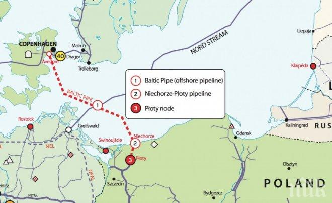 Битката за пазара на природен газ в Европа се ожесточава