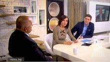 ЕДНО ПРАЗНО ИНТЕРВЮ: Борисов и впитата рокля на Ани Цолова