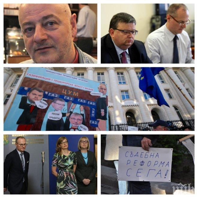 ИЗВЪНРЕДНО В ПИК ТV! Пламен Николов с разтърсващи разкрития за разцеплението сред протестърите и атаките срещу Цацаров (ОБНОВЕНА)