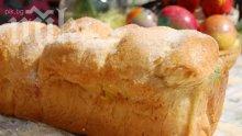 Козунак в машина за хляб </p><p>