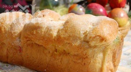 Козунак в машина за хляб