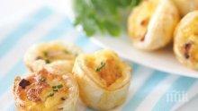 Бутерки със сирене и яйца