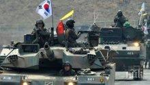 След изпитанието на Северна Корея, САЩ и Южна Корея организират учение край границата й