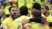 Бразилия тръгна с фантастична победа над Канада пред 30 000 в Куритиба (СНИМКИ)
