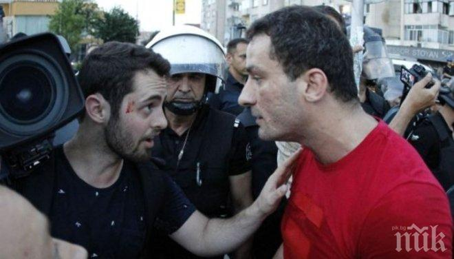 ИЗВЪНРЕДНО! Арестуваха Перата, защото ударил и псувал оператор