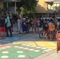 В Бяла се събраха на протест, след като роми пребиха 18-годишно момче пред дискотека