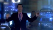 ГАФОВЕ В ЕФИР! Бивш водещ от Нова взриви нета с кълчене в студиото! Оси и мухи нападат колежките му по време на живи включвания! (ВИДЕО)