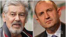 ПРИЗНАНИЕ! Стефан Данаилов с тежки думи за президента Радев