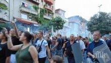 Протестиращите в Асеновград с ултиматум към институциите: Действайте бързо с ромите или ще протестираме до дупка