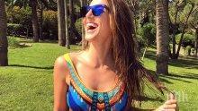 Бившата на Лудия репортер заживя като принцеса! Александра Богданска щурее цяло лято в Монако