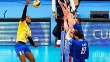 Бразилия измъкна трудна победа и остави Русия извън полуфиналите в Куритиба