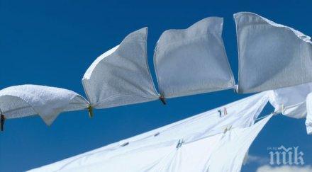 перете чаршафите всяка седмица