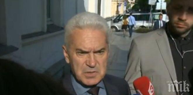 """Лидерът на """"Атака"""" Волен Сидеров: Борисов не е шубе, но се съобразява с Брюксел"""