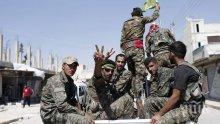 Американски военни нахлуха в Ракка