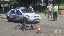 ИЗВЪНРЕДНО! Джип уби на място колоездач до Библиотеката в Пловдив (СНИМКИ 18+)
