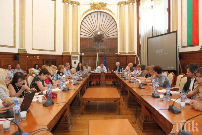 Консултативният съвет по храните обсъди възможни мерки за намаляване на сивия сектор