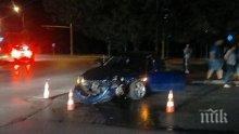Ужасяващ инцидент в Русе! Катастрофа между два автомобила отнесе момиче