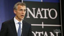 НАТО отново потвърди осъждането на опита за преврат в Турция