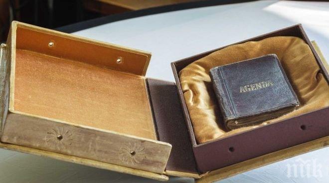 Реликва! Националната библиотека показва оригиналното тефтерче на Васил Левски