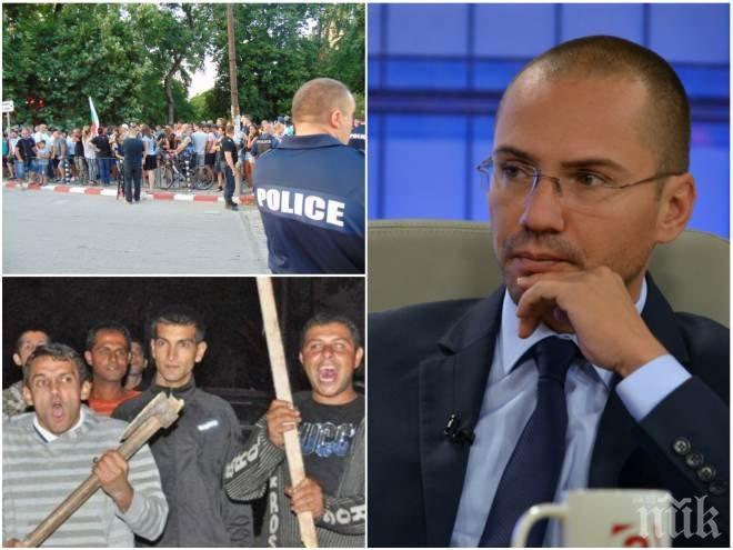 ЕКСКЛУЗИВНО В ПИК! Ангел Джамбазки изригна пред медията ни: Нормално ли е полицията да има работно време до 17 ч.?! Разпадът на държавността и фалшивата политическа коректност разпасаха циганската престъпност