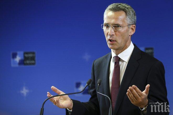 Столтенберг: НАТО и Русия остават на различни позиции, но смекчават тона