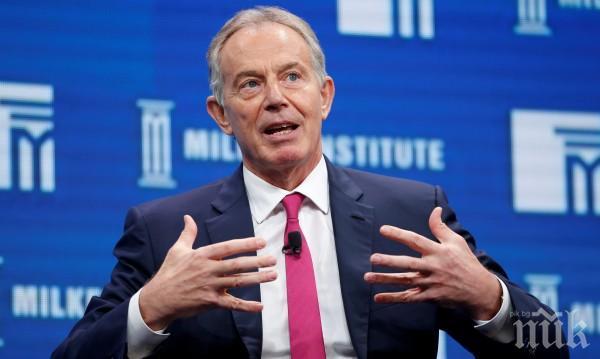 БРЕКЗИТ! Тони Блеър наглее: ЕС са склонни на компромис за придвижването на хора