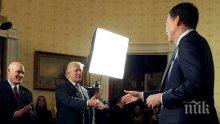 Доналд Тръмп заяви, че бившият директор на ФБР Джеймс Коми опитвал да го изнудва, за да запази поста си