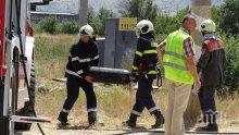 ОТ ПОСЛЕДНИТЕ МИНУТИ! Цистерна се обърна и се запали на пътя Провадия - Айтос