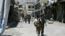 Тежки боеве се водят в столицата на джихадистите - град Ракка
