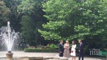 Принц Уилям и съпругата му Кейт пристигнаха с двете си деца в Полша (СНИМКИ/ВИДЕО)</p><p>